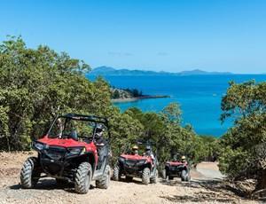 Fun ATV ride through Hamilton Island's beautiful nature