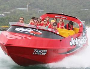 Group jet ski tour on Hamilton Island