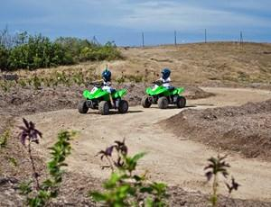 Kids quad bike fun on Hamilton Island