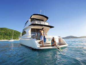 Yacht tour around Hamilton Island