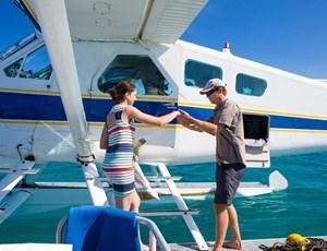 Seaplane excursion around the Hamilton Island