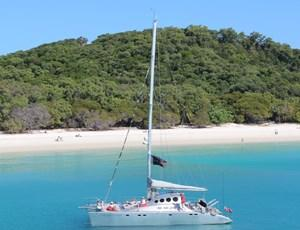 Luxury sailing catamaran Ricochet
