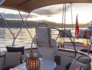 Luxury yacht tour on Sir Thomas Sopwith