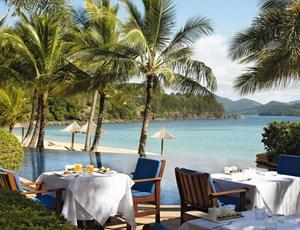 Beach Club Restaurant on Hamilton Island