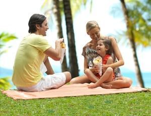 Fun family day on Hamilton Island