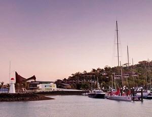 Hamilton Island Yacht Club and marina