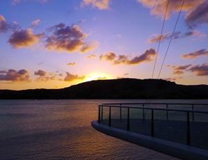 Sunset over Dent Passage on Hamilton Island