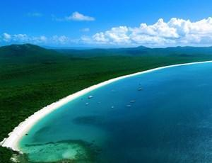Whitehaven Beach in Queensland's Whitsundays Island