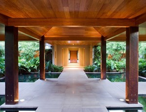 Entrance to Spa qualia on Hamilton Island
