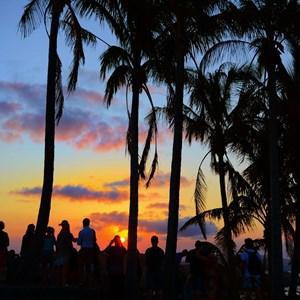Gourgeous sunset shot taken on a Whitsunday Islands holiday