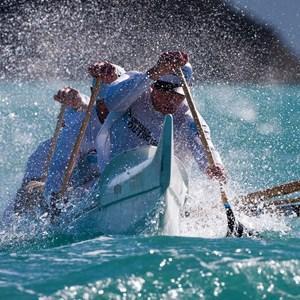 Clash of the paddles on Hamilton Island