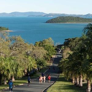 Hilly Half Marathon on running towards qualia