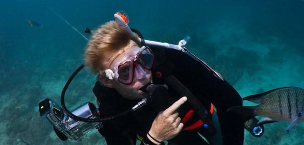 Diving with Ben Southall