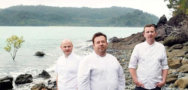 Executive Chefs - Alastair Waddell, Peter Gilmore & Dan Hunter