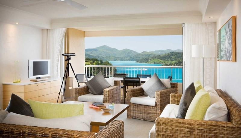 Two bedroom terrace suite at the Reef View Hotel