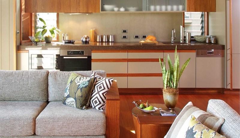 Hamilton Island Yacht Club Villa spacious lounge room
