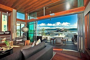 Luxurious interior of Yacht Club Villas on Hamilton Island