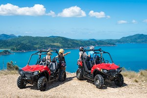 Fun ATV tours on Hamilton Island, Australia