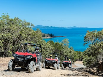Fun ATV ride through Hamilton Island's beautiful nature