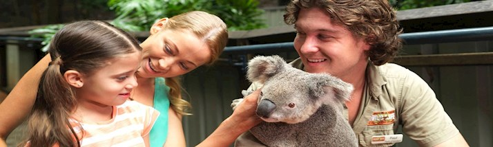 Exotic animals at Wild Life on Hamilton Island, Australia