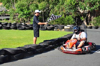 Fun karting activities on Hamilton Island, Queensland