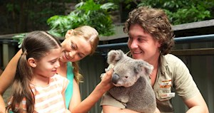 Wild Life family fun on Hamilton Island