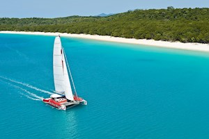 Exciting catamaran tour around Hamilton Island