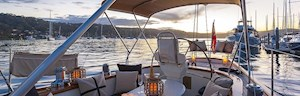 Luxury yacht tour on Sir Thomas Sopwith around Whitsunday Islands