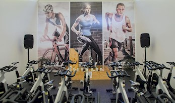 Spin Class room at the Sports Club, Hamilton Island