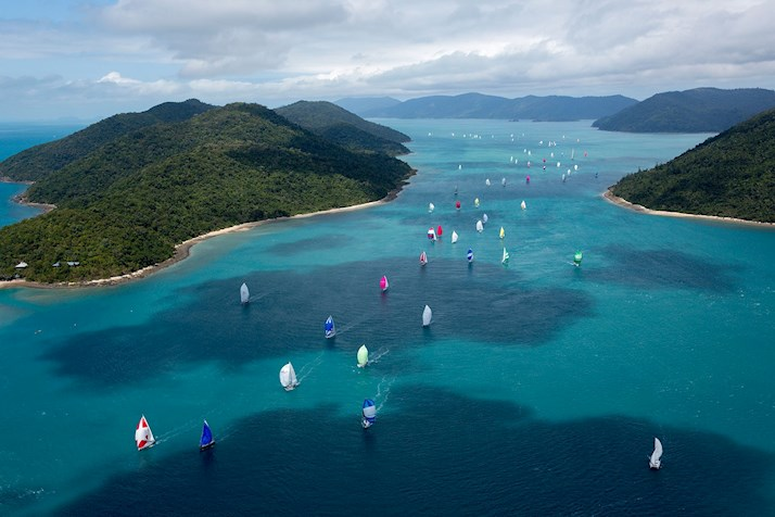 Hamilton Island Race Week is an ideal Whitsunday Islands event with many Queensland resort deals offered to those visiting Whitehaven Beach at the same time.