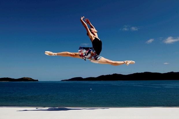Ballet perfomance at Qualia, Hamilton Island
