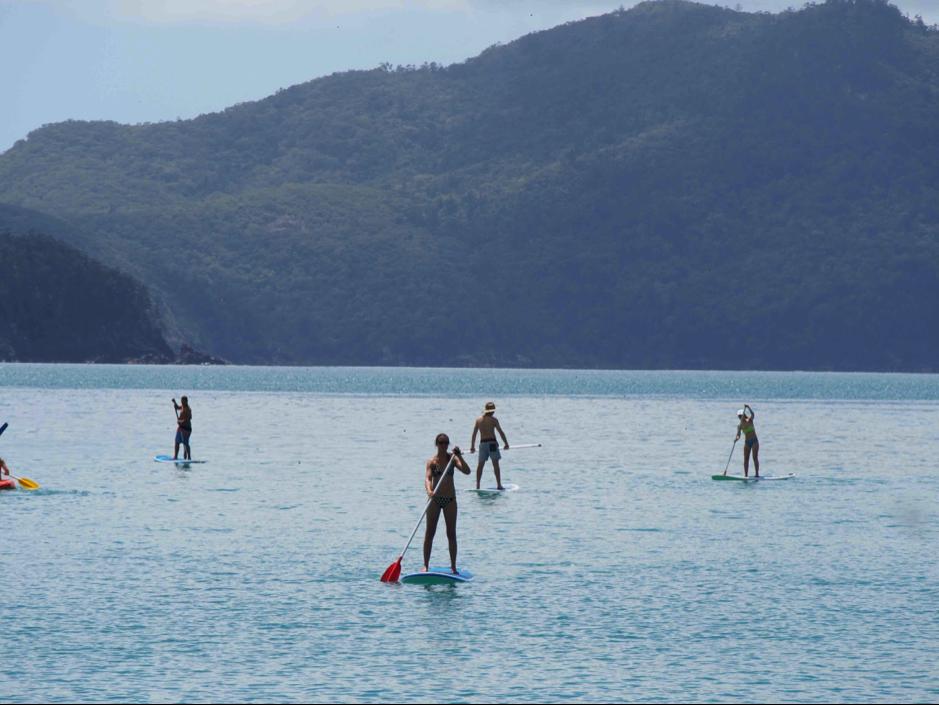 Stand Up Paddle Boarding Hamilton Island
