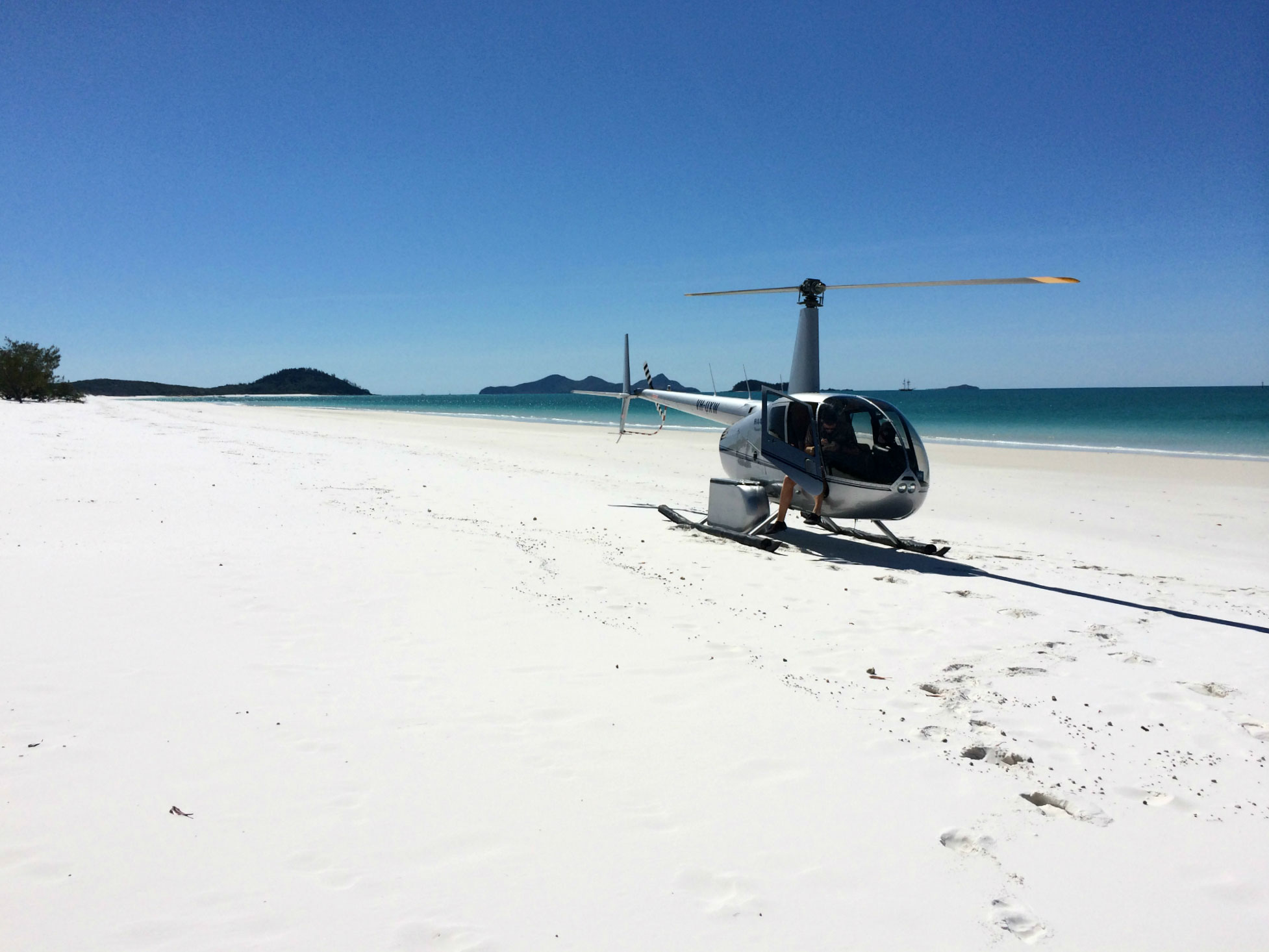 Getting From Hamilton Island To Whitehaven Beach