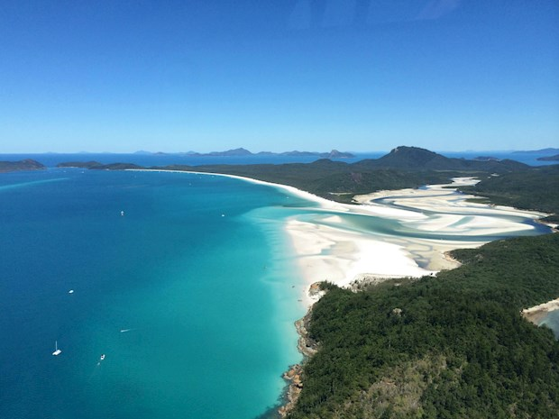 Explore Whitehaven Beach from your Whitehaven Beach accommodation, something particularly popular when Queensland accommodation packages are on sale.