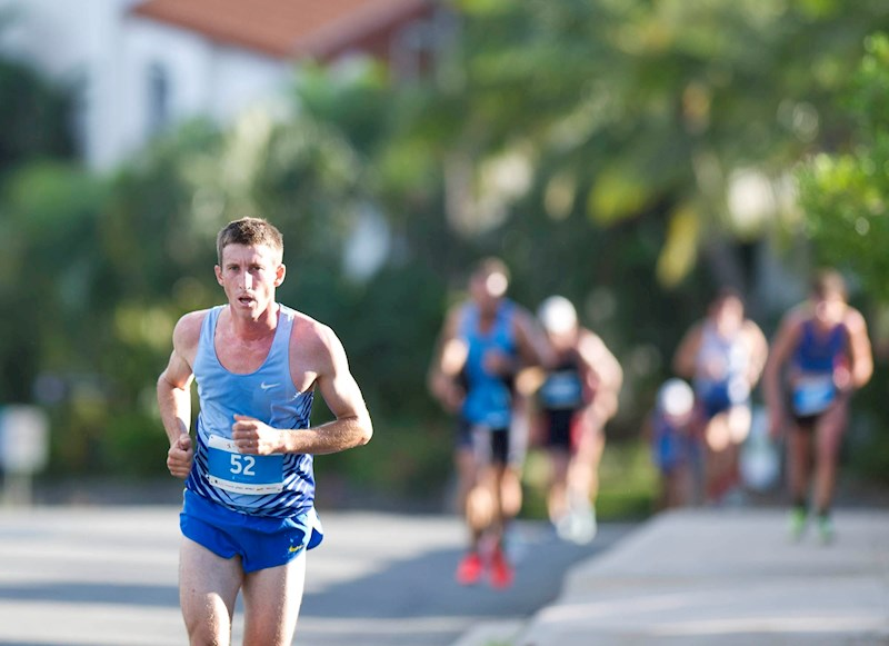 Hilly Half Marathon on Hamilton Island