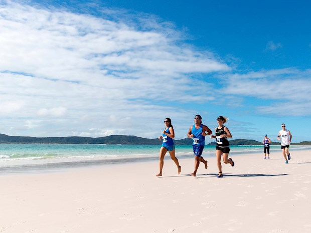 Gorgeous Whitehaven Beach on Hamilon Island