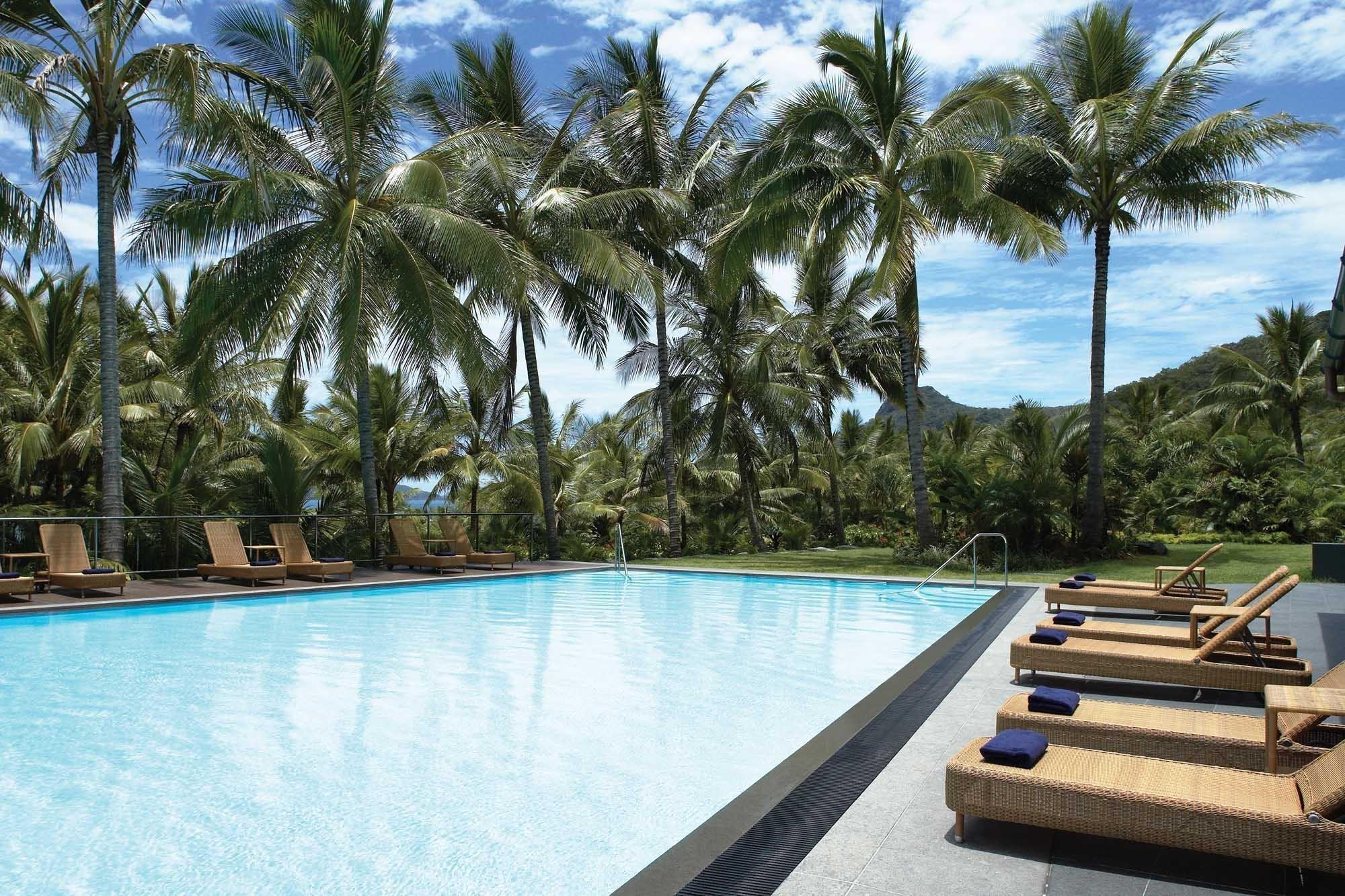 Reef View Hotel Lap Swimming Pool Hamilton Island Activities