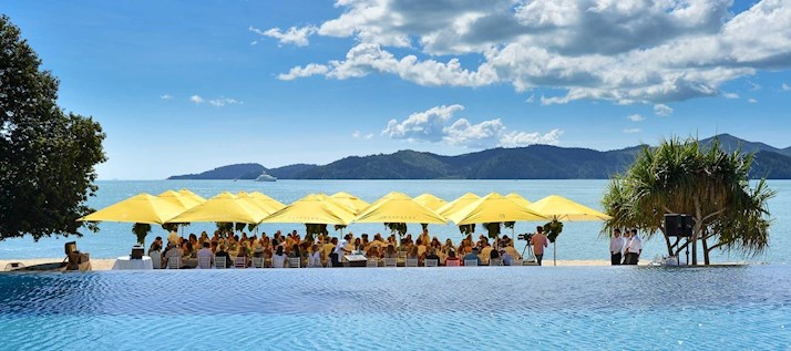 Paspaley Pebble Beach lunch, Hamilton Island