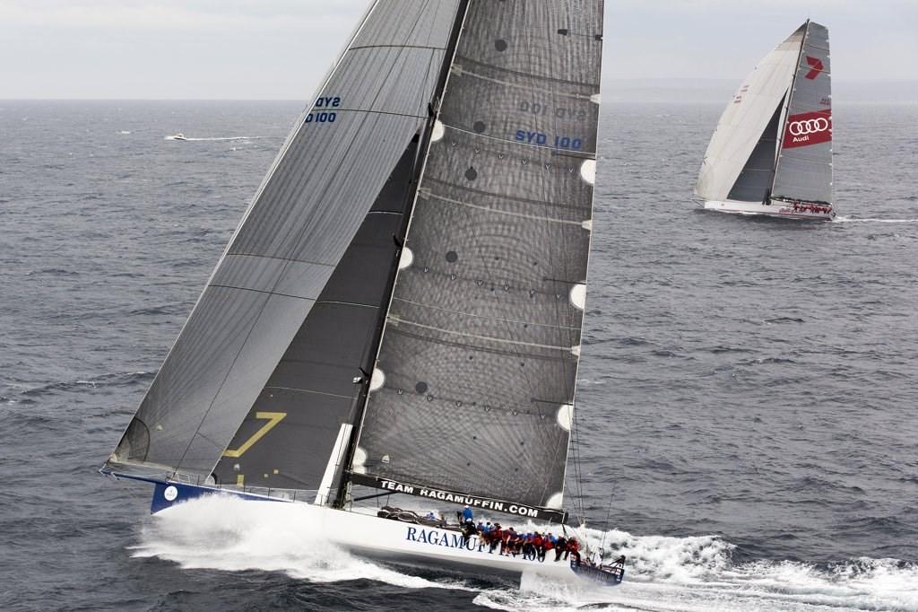 Hamilon Island Yacht Race on the edge of Great Barrier Reef in Australia