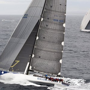 Hamilon Island Yacht Race on the edge of Great Barrier Reef in Australia