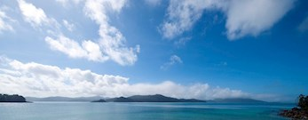 Coral Bay view from Hamilton Island