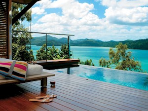Enjoy the luxury stay at Windward pavilions private plunge pool and deck - perfect place for your luxury summer vacation