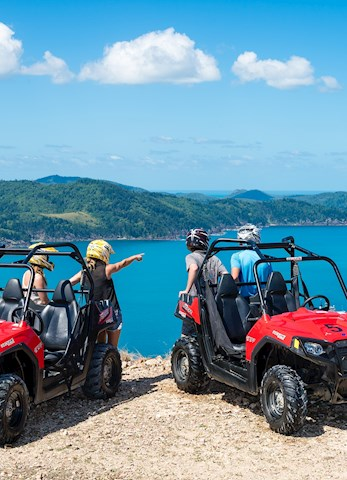 Explore Hamilton Island on an ATV - Hamilton Island vacations