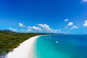 See Whitehaven Beach with a trip from Hamilton Island