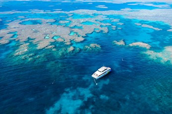 Dive the Great Barrier Reef with a trip from Hamilton Island