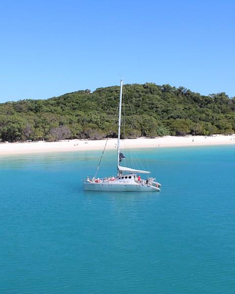 Ricochet Luxury Sailing Catamaran | Hamilton Island Luxury