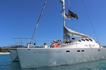 Sailing adventures on Ricochet with Explore Group - Hamilton Island