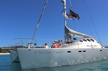 Sailing adventures on Ricochet with Explore Group - Hamilton Island