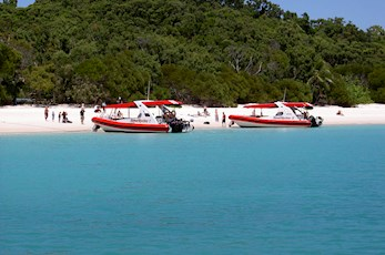 Visit Whitehaven Beach with Reef Ryder from Hamilton Island
