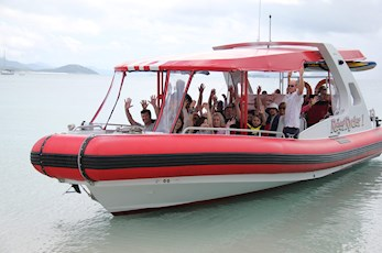 Discover Whitehaven Beach and the Great Barrier Reef on Reef Ryder - Hamilton Island